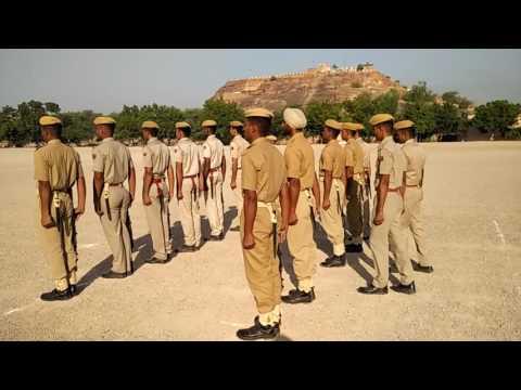 Guard mounting demo -Rajasthan Police (PTS- JODHPUR)