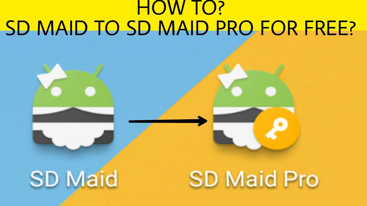 sd maid pro free download tutorial 2019 by The Android Addict