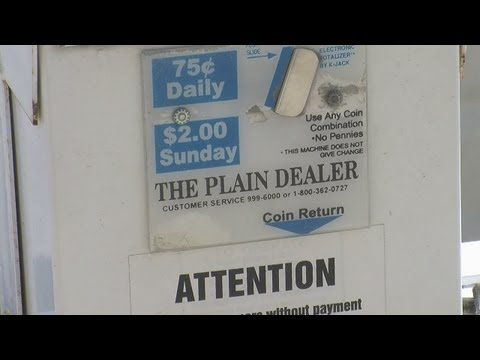 6pm: Plain Dealer cutting back home delivery