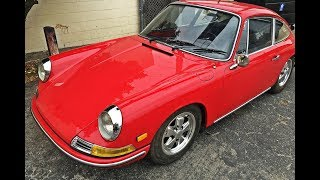 1966 Porsche 911 S Coupe restoration