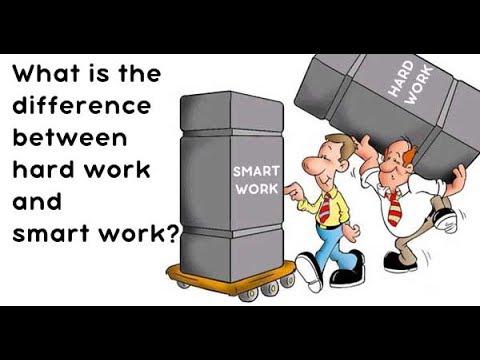 Hardwork Vs Smartwork! -By Aayush Rathi - YouTube
