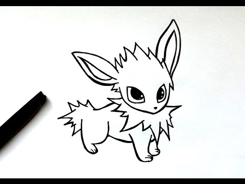 How To Draw A Jolteon Pokémon