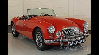 MG A cabriolet 1962-VIDEO- www.ERclassics.com