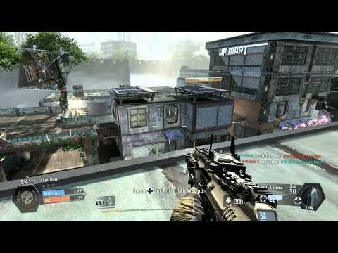 Titanfall Xbox One Gameplay - Attrition on Angel City with MVP Finish