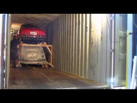 Rotterdam Amsterdam Netherlands Car Shipping Direct Express Inc loading 45 hc container-C1
