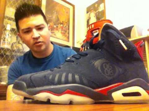 sale cheap price to buy Air Jordan 6 Carmine Infrared Doernbecher - YouTube