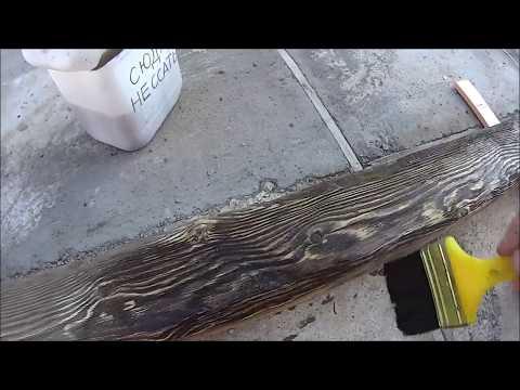 Красивая, бесплатная морилка для древесины, в любом количестве.