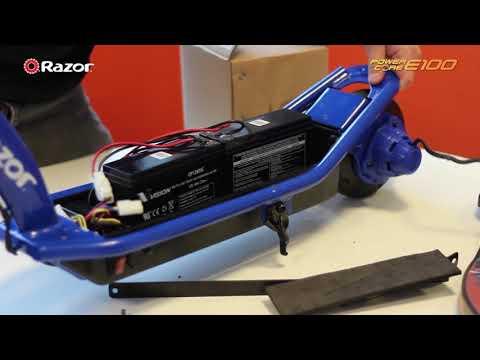 Motor Replacement On A Razor Power Core E100
