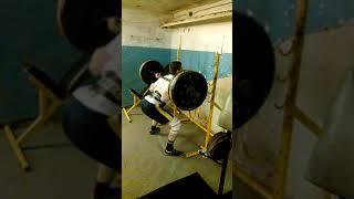 140 кг присед 4х4 крайний