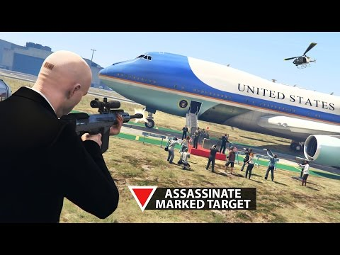 HITMAN AGENT 47 MOD w/ VIP ASSASSINATION MISSIONS! (GTA 5 Mods)