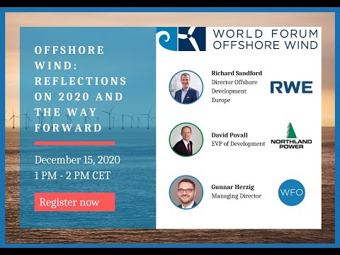 Offshore Wind  Reflections on 2020 and the way forward