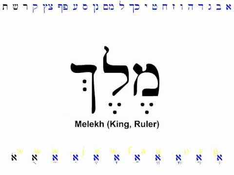 Hebrew Alphabet Part 3