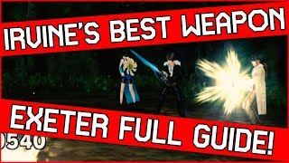 Irvine's Ultimate Weapon Guide in Final Fantasy 8 Remastered - How to get Exeter!