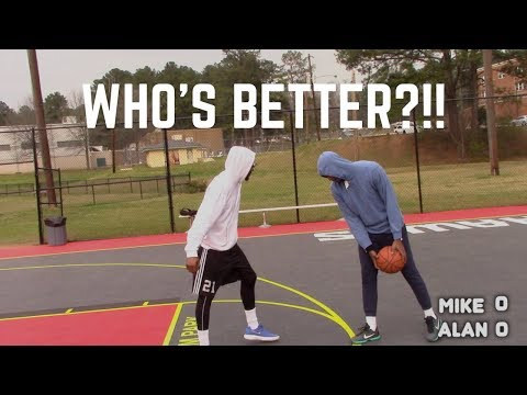MIKE vs ALAN LOVE 1V1 | WHO'S BETTER?!!