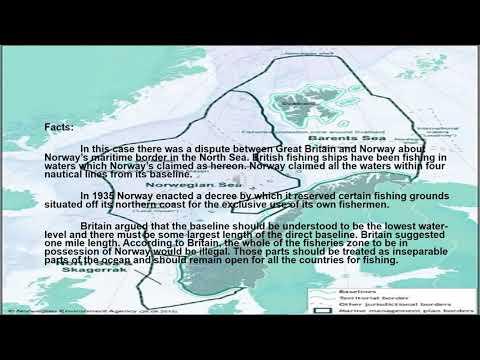 Anglo Norwegian Fisheries Case-Lalaguna, Corina V.