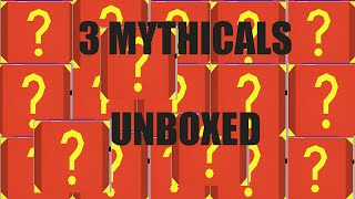 unturned 50 mystery box unboxing 3 mythical hats