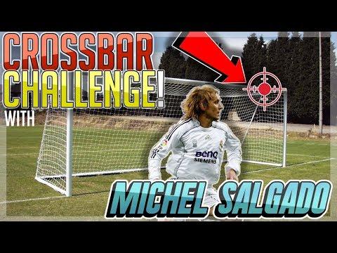 Cross Bar Challenge With Football Superstar Michel Salgado!