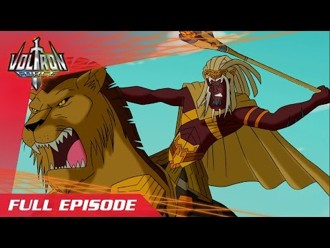 Voltron Force ep07 - Lion Riders Return