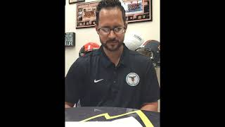 2018 Hall of Fame Announcement by Warren Keller, Athletic Director
