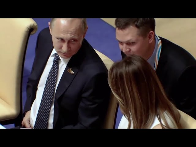 BREAKING: Putin Admits To Lying To Melania Trump Over The Size Of His Fish