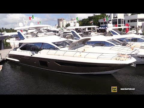 2020 Azimut 72 Luxury Yacht Walkaround Tour - 2020 Fort Lauderdale Boat Show
