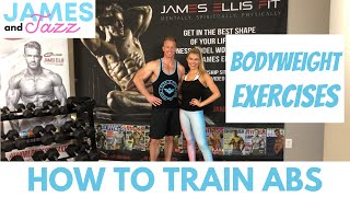 How To Train Abs || Bodyweight Exercises || Exercise Demonstrations || Sit Ups || Crunches || Plank
