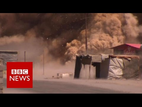 The Iraqi town where IS were driven out - BBC News