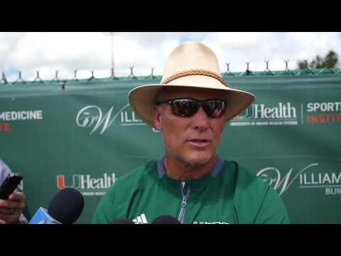 Coach Mark Richt | Post Practice Presser | 8.4.18