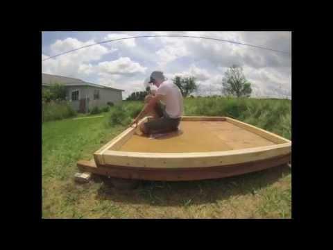Bauanleitung blockbohlensauna saunabank zusammenbauen for Styropor pool hornbach