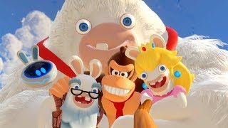Mario + Rabbids Donkey Kong Adventure - All Cutscenes Full Movie HD