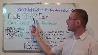 1Z0-821 – Oracle Exam Solaris 11 Test Administration Questions
