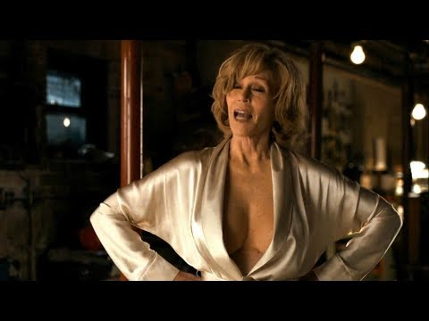 Gold Silk Robe - Jane Fonda