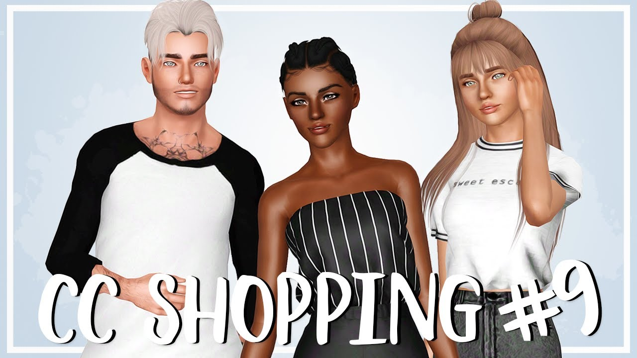 Sims 3 Custom Content Shopping #9: HAIR FOR ALL AGES!