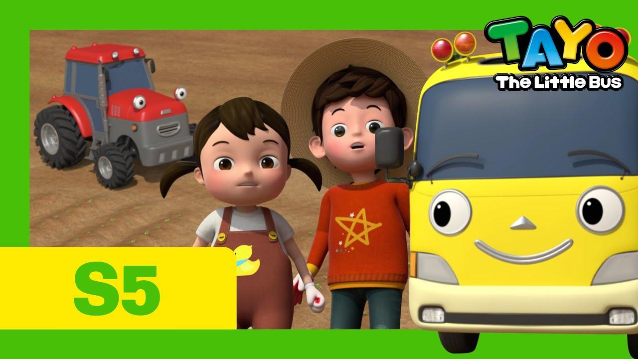 Tayo Bus Deutsch S5 l Kinder besucht einen Bauernhof l Tayo neue Folge l Tayo Der Kleine Bus