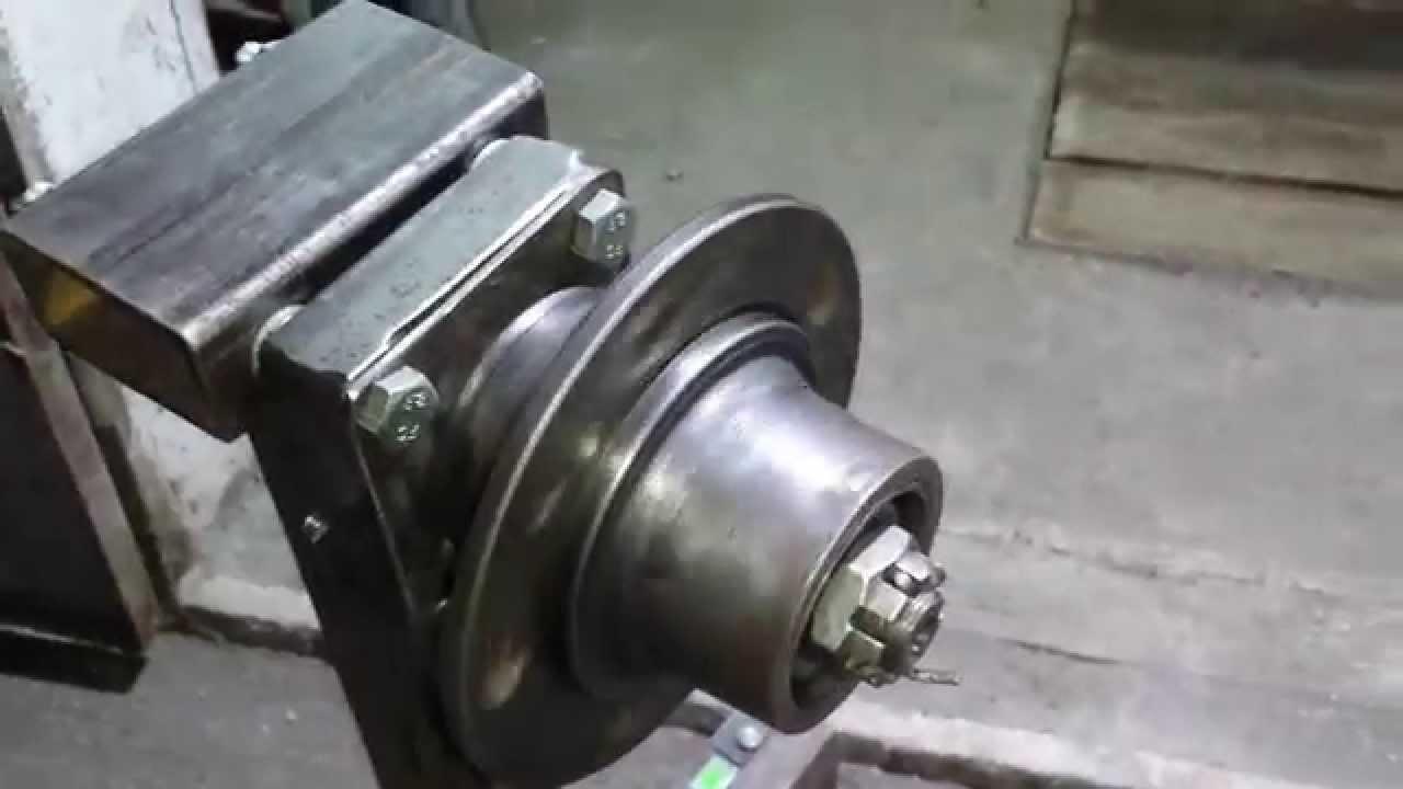 Стенд для обкатки двигателей своими руками
