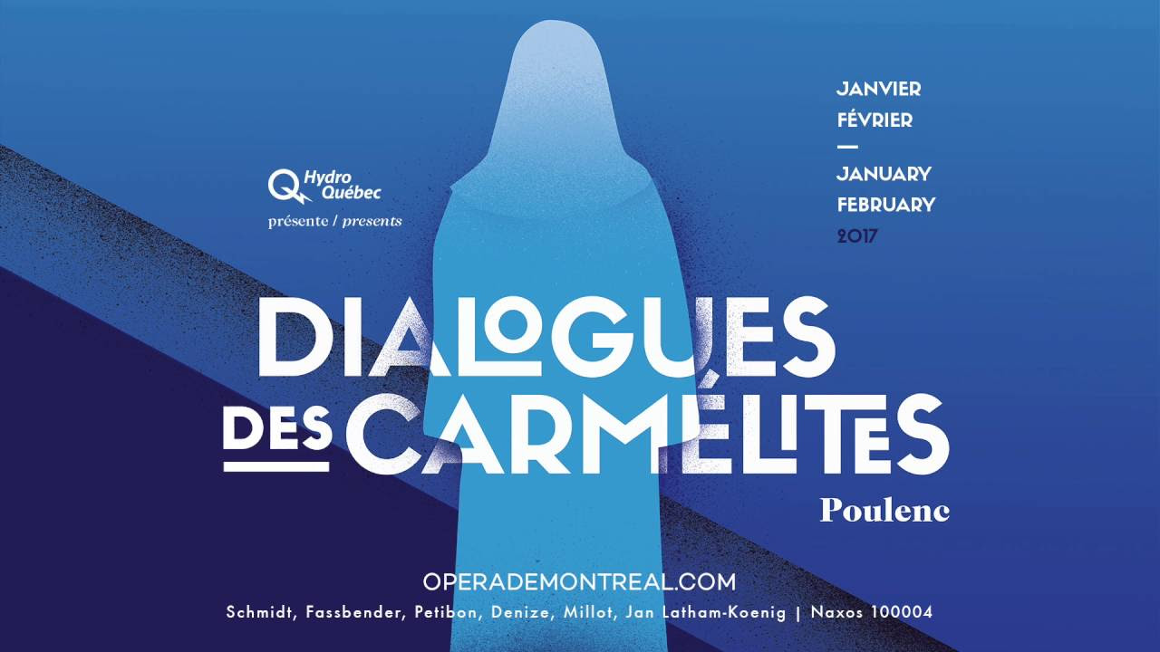 Image result for images of Dialogues des carmélites, montreal