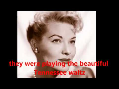 Patti Page - Tennessee Waltz (Lyrics on Screen)