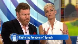 Mark Steyn: Restoring Freedom of Speech | Studio 10
