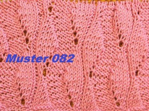 Muster 082**Stricken lernen* Muster für Pullover Strickjacke Mütze Stirnband