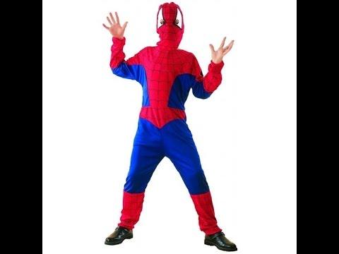 Карнавальный костюм детский человек паук
