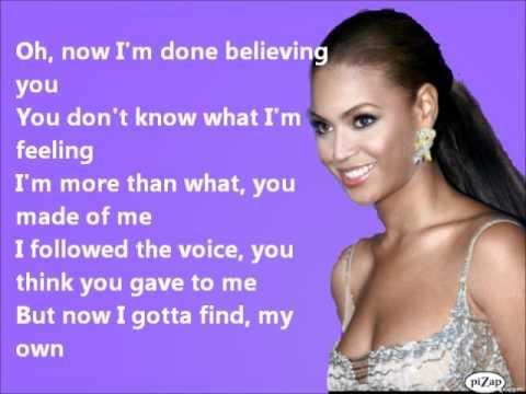 Beyoncé - LISTEN+LYRICS