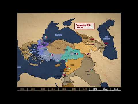 Le Levant Entre 1916 Et 1923