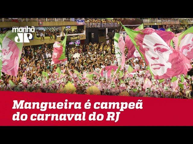 Mangueira é campeã do carnaval do Rio de Janeiro; escola de samba homenageou Marielle Franco