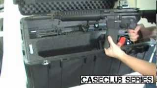 4 m4 rifle accessory case   multi rifle case by case club