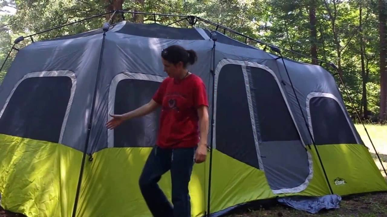 Core 12 tent set up. & Core 12 tent set up... - YouTube