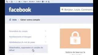 Ebuzzy - Astuces : Comment supprimer définitivement son compte Facebook?