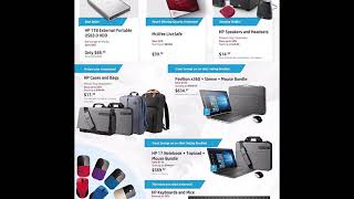 HP Home Black Friday Deals Coupons 2018 Ad