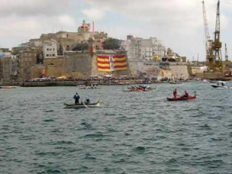 Regatta at the Grand Harbour, Valetta, Malta