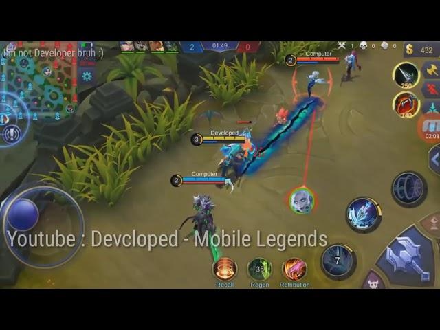 How Alpha Skin Gameplay! (Sea Gladiator) Mobile Legends