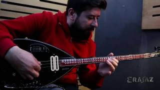 Elektro Bağlama - Erasaz Abanoz Yapım (A Class) Turkish İnstrument